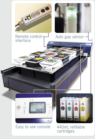 Xpress console and refillable ink cartridges